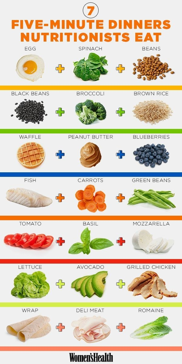 For dinners that are healthy AND quick.