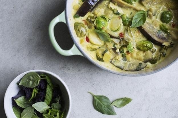 Sunday Dinner: Eggplant Lemongrass Curry