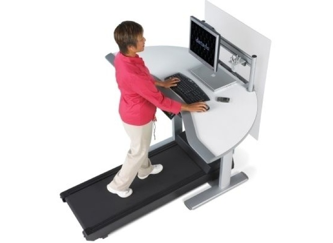 2.) Walkstation - Perfect for those who don't feel enough like they're going nowhere with their career.