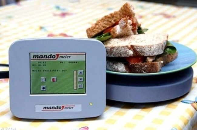 5.) Mandometer - This product lets you know if you're eating too fast... so don't swallow your food whole.