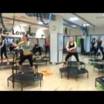 Jumping Fitness Transforms Into Horseback Riding