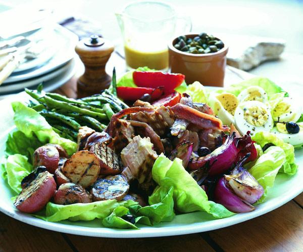 Grilled Salad Niçoise