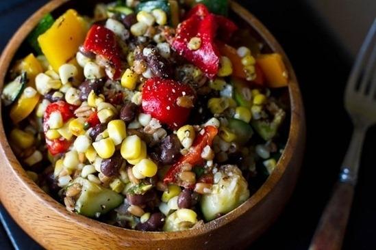 Long Weekend Grilled Salad