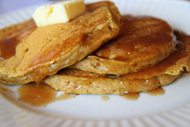 Fluffy and Light Pumpkin Pancakes