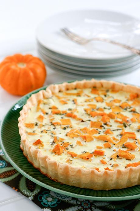 Savory Pumpkin Quiche