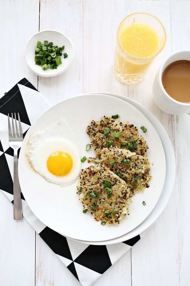 Quinoa Hash Browns