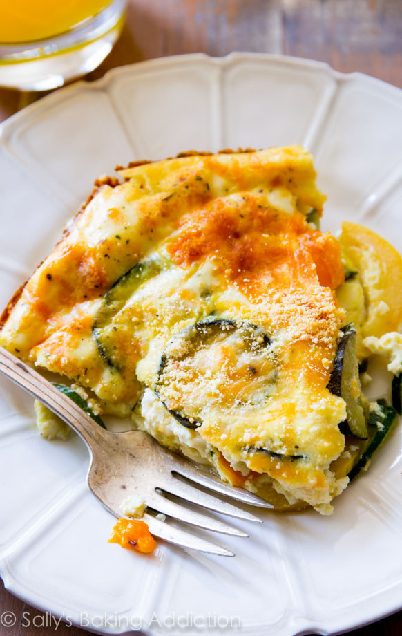 Light, Crustless Quiche