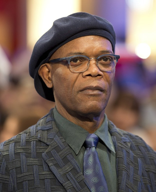 Actor ( The Avengers ) Samuel L. Jackson