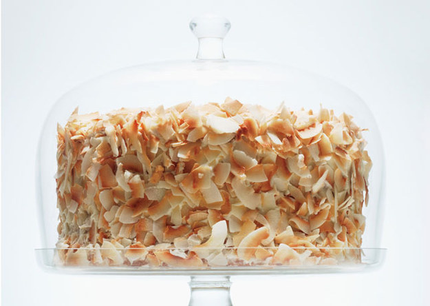 Coconut Southern Comfort Layer Cake
