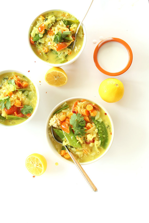30-Minute Coconut Vegetable Curry