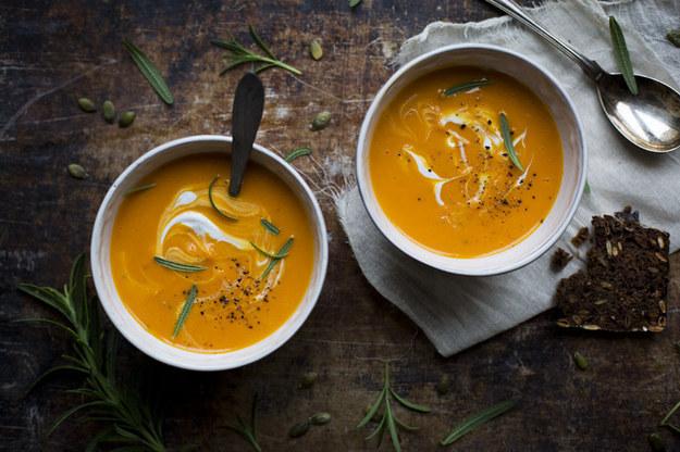 Roasted Butternut & Coconut Soup