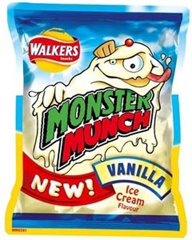Vanilla Monster Munch