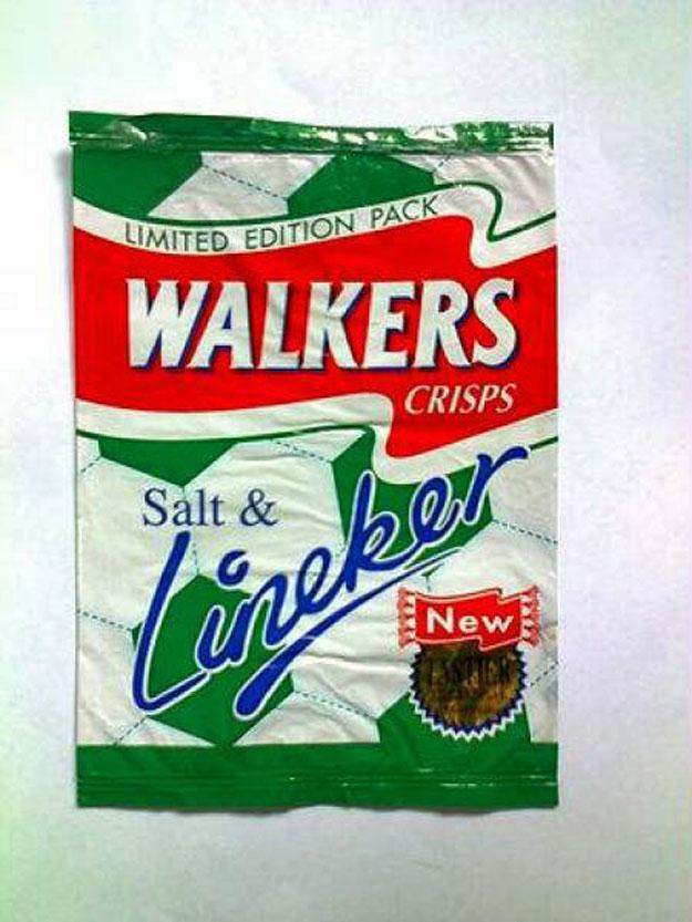 Salt & Lineker Flavour Walkers
